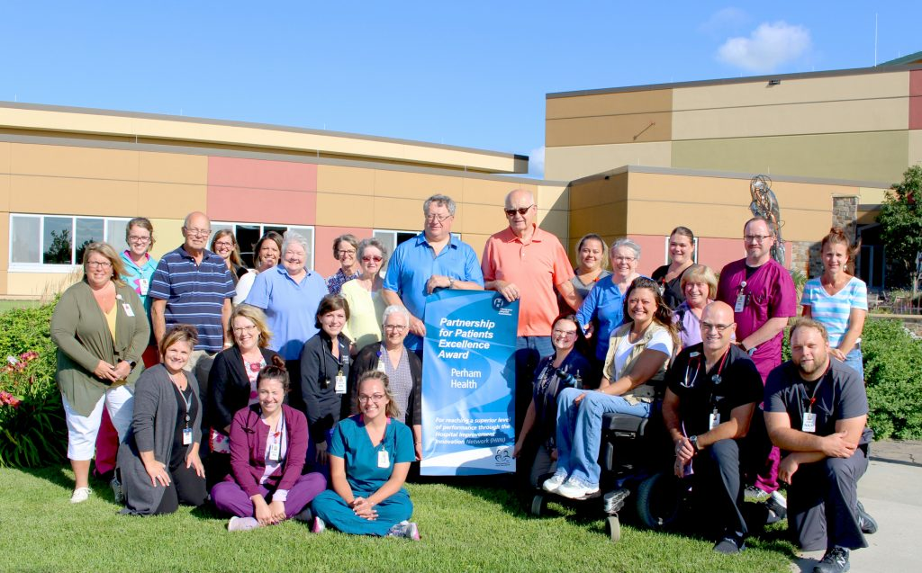 Perham Health's Partners in Care Council along with with nurses and providers